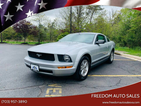 2008 Ford Mustang for sale at Freedom Auto Sales in Chantilly VA