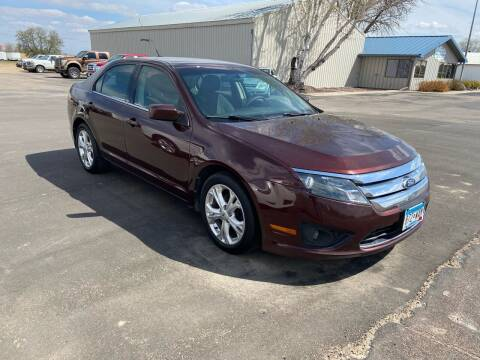 2012 Ford Fusion for sale at Hill Motors in Ortonville MN