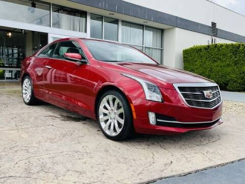 2015 Cadillac ATS for sale at RUSTY WALLACE CADILLAC GMC KIA in Morristown TN