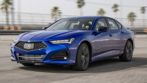 2021 Acura TLX for sale at XS Leasing in Brooklyn NY