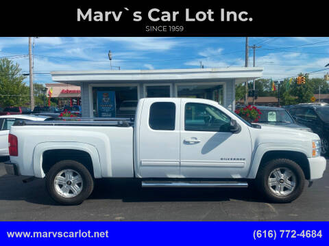 2012 Chevrolet Silverado 1500 for sale at Marv`s Car Lot Inc. in Zeeland MI
