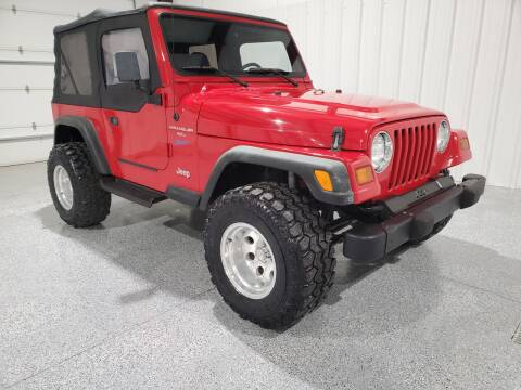 1997 Jeep Wrangler for sale at Hatcher's Auto Sales, LLC in Campbellsville KY