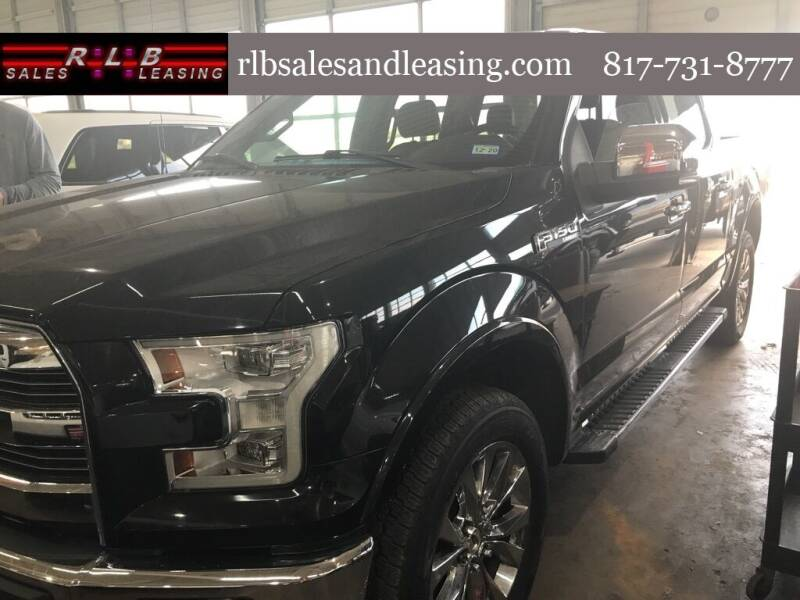 2015 Ford F-150 for sale at RLB Sales and Leasing in Fort Worth TX