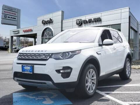 2018 Land Rover Discovery Sport for sale at Ron's Automotive in Manchester MD