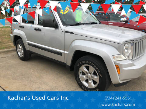 2012 Jeep Liberty for sale at Kachar's Used Cars Inc in Monroe MI