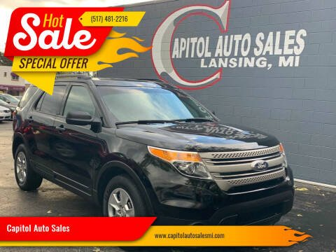 2012 Ford Explorer for sale at Capitol Auto Sales in Lansing MI