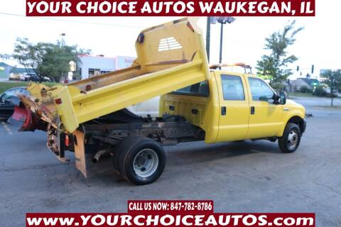 2007 Ford F-350 Super Duty for sale at Your Choice Autos - Waukegan in Waukegan IL