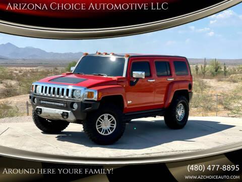 2008 HUMMER H3 for sale at Arizona Choice Automotive LLC in Mesa AZ