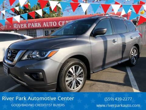 2017 Nissan Pathfinder for sale at River Park Automotive Center in Fresno CA