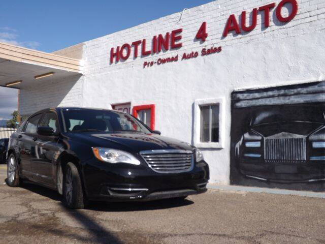 2013 Chrysler 200 for sale at Hotline 4 Auto in Tucson AZ