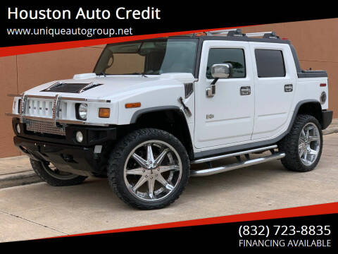 2005 HUMMER H2 SUT for sale at Houston Auto Credit in Houston TX