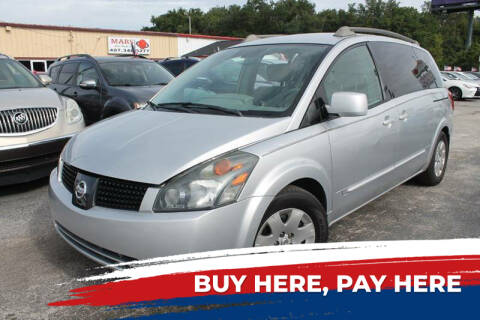 2005 Nissan Quest for sale at Mars auto trade llc in Kissimmee FL