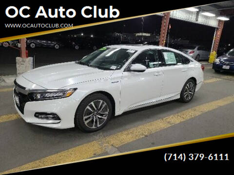 2019 Honda Accord Hybrid for sale at OC Auto Club in Midway City CA