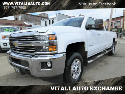 2016 Chevrolet Silverado 2500HD for sale at VITALI AUTO EXCHANGE in Johnson City NY