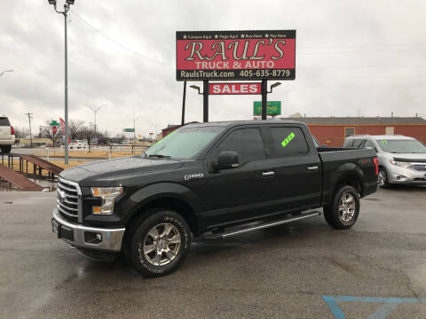 2015 Ford F-150 for sale at RAUL'S TRUCK & AUTO SALES, INC in Oklahoma City OK
