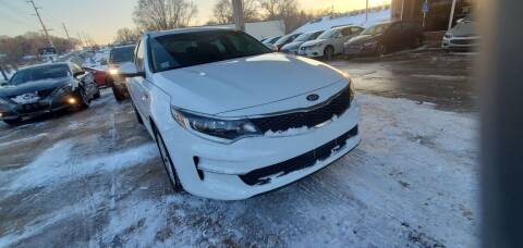 2017 Kia Optima for sale at Divine Auto Sales LLC in Omaha NE