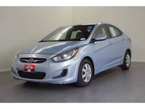 2014 Hyundai Accent for sale at FREDYS CARS FOR LESS in Houston TX
