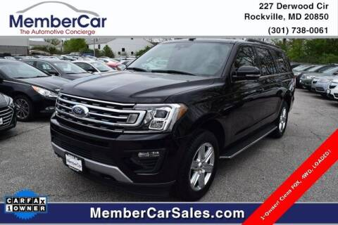2019 Ford Expedition MAX for sale at MemberCar in Rockville MD