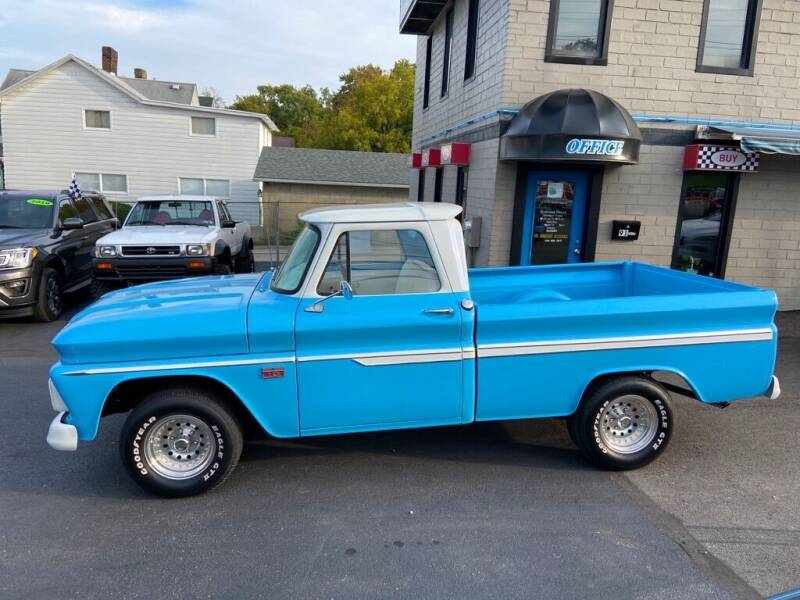 1966 Chevrolet C/K for sale at Sisson Pre-Owned in Uniontown PA