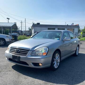 2005 Infiniti Q45 for sale at MBM Auto Sales and Service in East Sandwich MA