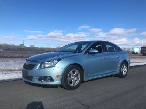 2012 Chevrolet Cruze for sale at Whi-Con Auto Brokers in Shakopee MN