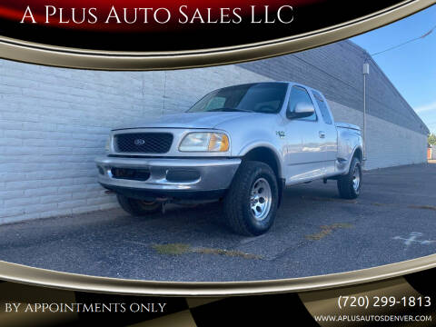 1998 Ford F-150 for sale at A Plus Auto Sales LLC in Denver CO
