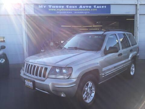 2004 Jeep Grand Cherokee for sale at My Three Sons Auto Sales in Sacramento CA