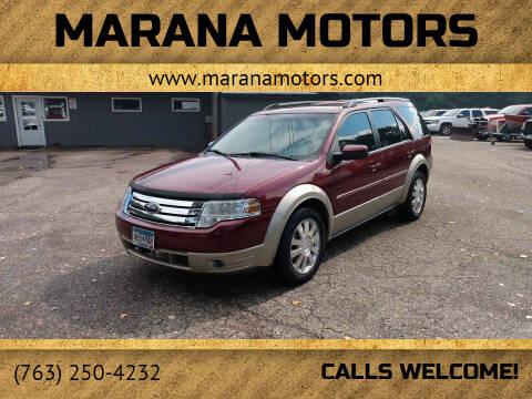 2008 Ford Taurus X for sale at Marana Motors in Princeton MN