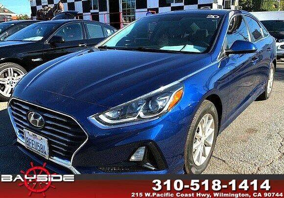 2018 Hyundai Sonata for sale at BaySide Auto in Wilmington CA