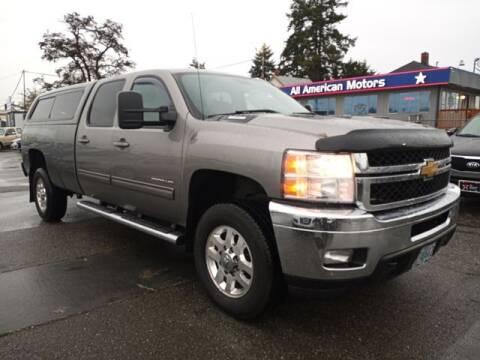 2013 Chevrolet Silverado 2500HD for sale at All American Motors in Tacoma WA