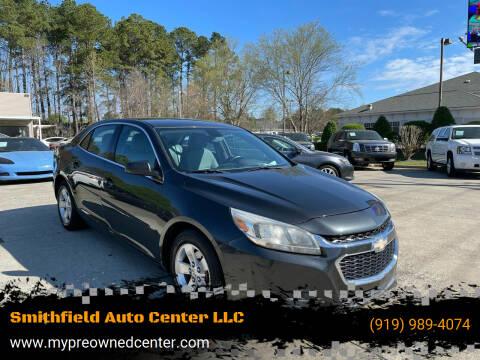 2014 Chevrolet Malibu for sale at Smithfield Auto Center LLC in Smithfield NC