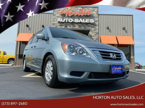 2010 Honda Odyssey for sale at HORTON AUTO SALES, LLC in Linn MO