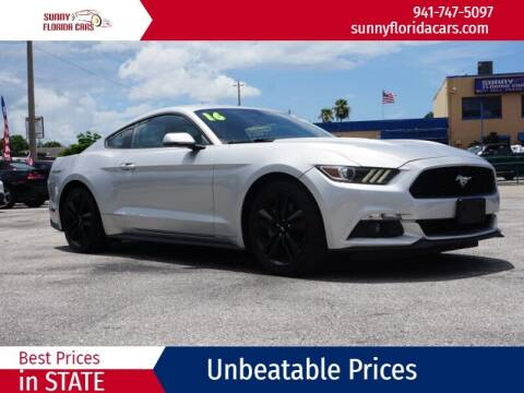 2016 Ford Mustang for sale at Sunny Florida Cars in Bradenton FL