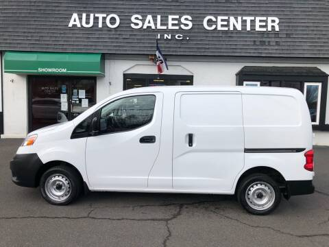2019 Nissan NV200 for sale at Auto Sales Center Inc in Holyoke MA