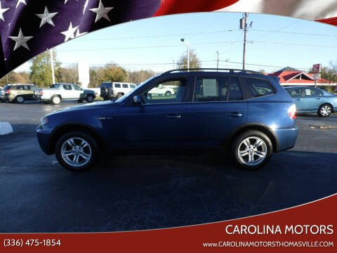 2006 BMW X3 for sale at CAROLINA MOTORS in Thomasville NC