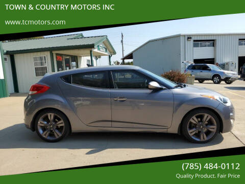 2012 Hyundai Veloster for sale at TOWN & COUNTRY MOTORS INC in Meriden KS