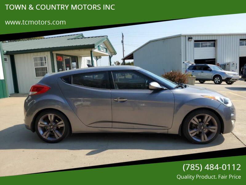 2012 Hyundai Veloster for sale at Town & Country Motors Inc. in Meriden KS