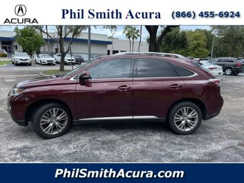 2014 Lexus RX 350 for sale at PHIL SMITH AUTOMOTIVE GROUP - Phil Smith Acura in Pompano Beach FL