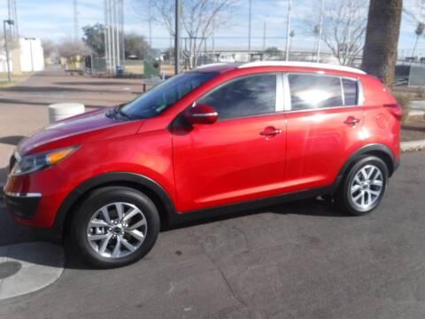 2014 Kia Sportage for sale at J & E Auto Sales in Phoenix AZ