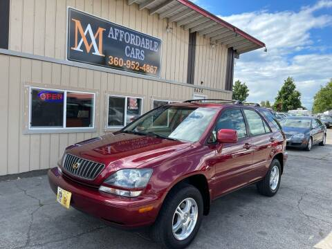 2000 Lexus RX 300 for sale at M & A Affordable Cars in Vancouver WA