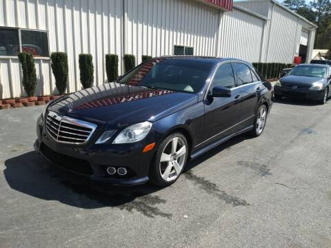 2010 Mercedes-Benz E-Class for sale at Mathews Used Cars, Inc. in Crawford GA