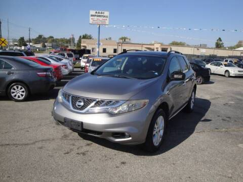2011 Nissan Murano for sale at A&S 1 Imports LLC in Cincinnati OH