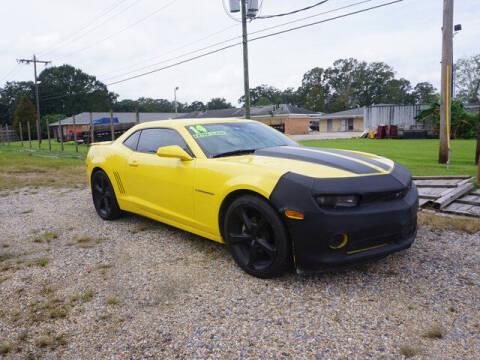 2014 Chevrolet Camaro for sale at BLUE RIBBON MOTORS in Baton Rouge LA
