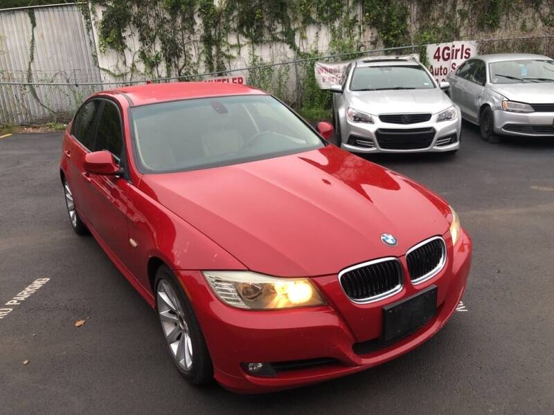 2011 BMW 3 Series for sale at 4 Girls Auto Sales in Houston TX