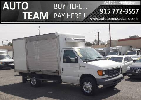 2006 Ford E-Series Chassis for sale at AUTO TEAM in El Paso TX