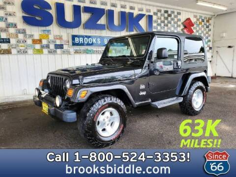 2003 Jeep Wrangler for sale at BROOKS BIDDLE AUTOMOTIVE in Bothell WA
