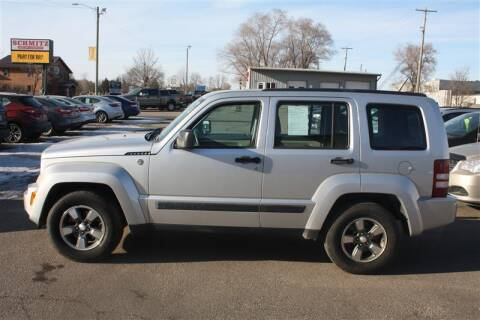 2008 Jeep Liberty for sale at SCHMITZ MOTOR CO INC in Perham MN
