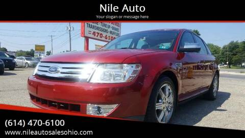 2009 Ford Taurus for sale at Nile Auto in Columbus OH