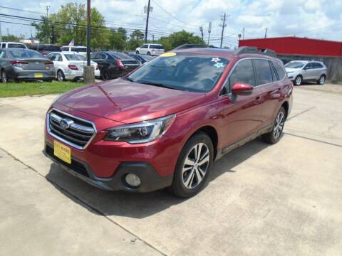 2019 Subaru Outback for sale at BAS MOTORS in Houston TX