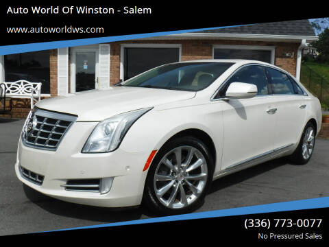 2014 Cadillac XTS for sale at Auto World Of Winston - Salem in Winston Salem NC